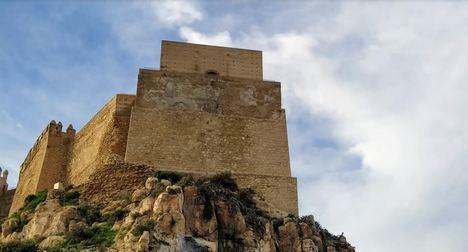 Cultura termina la mejora del Baluarte del Saliente en La Alcazaba