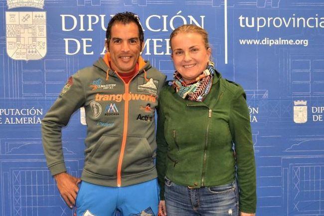 Diputación apoya al montañero Alejandro Albacete en su ascensión al Ama Dablam
