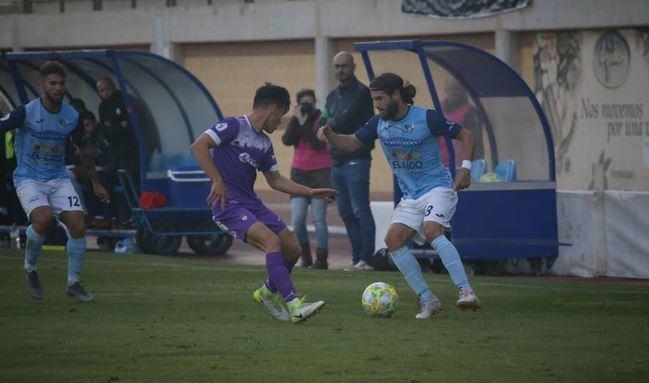 Partido del CD El Ejido frente a un rival directo por los puestos de play off