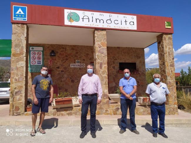 La Junta financia con 30.000 euros la reforma del camping de Almócita