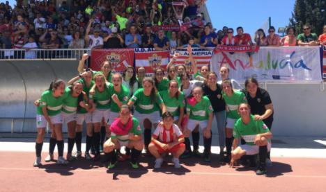 1-1: El Almería femenino jugará la final del play-off de ascenso contra el Betis B