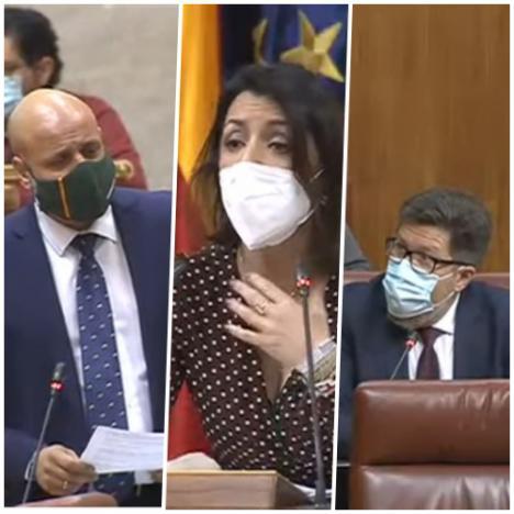 Sánchez Haro dice en sede parlamentaria que Moreno Bonilla cobró de una