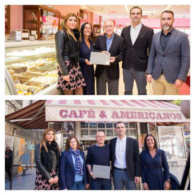 El Ayuntamiento de Almería reconoce a los centenarios Kiosco Amalia y La Dulce Alianza
