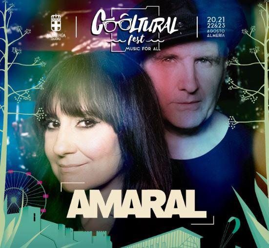 Amaral, primer cabeza de cartel confirmado para el tercer Cooltural Fest