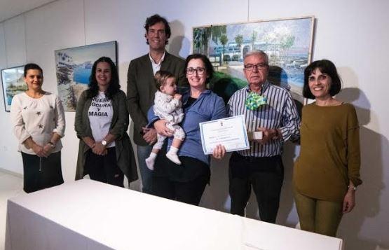 "Ana Sánchez Lucas gana el ""XVI Concurso de pintura rápida Juan Ibáñez"""