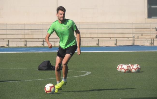 Andoni López recibe el alta médica y está disponible para la próxima cita de Liga