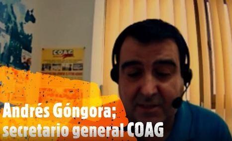 Góngora (COAG): 'Lo que necesita la agricultura es inversión'