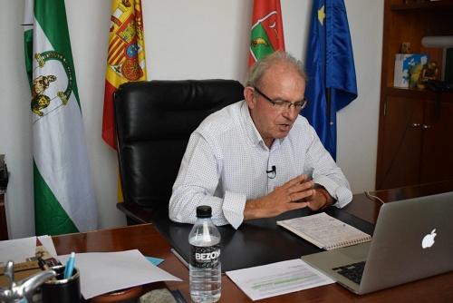 Antonio Bonilla Ponente En Las II Jornadas De Constitucionalismo Del IES Pablo Ruiz Picasso De El Ejido