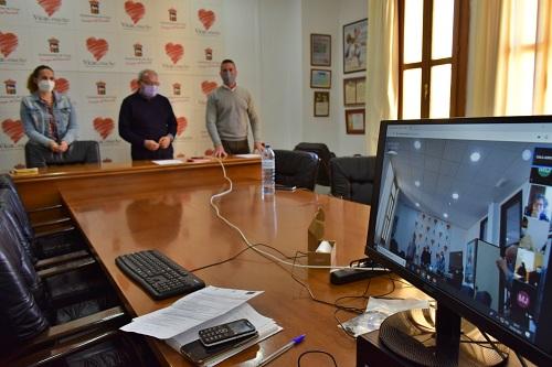 Una comisión en Vícar analiza la Inserción Sociolaboral De Personas En Riesgo