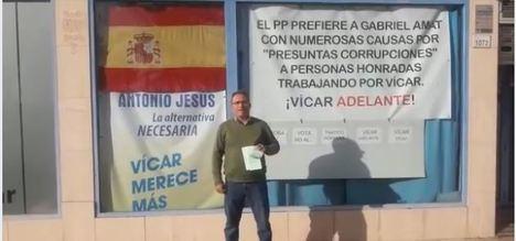 Vox encuentra en Almería el apoyo de un edil inhabilitado y expulsado del PP