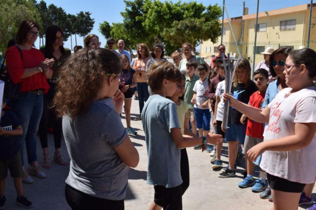 Alumnado TEA De Los CEIP Virgen De La Paz Y José Saramago Protagonistas En La Antorcha De Las Letras