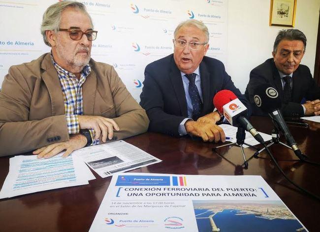 Una jornada pondrá en valor la conexión Puerto-tren para Almería