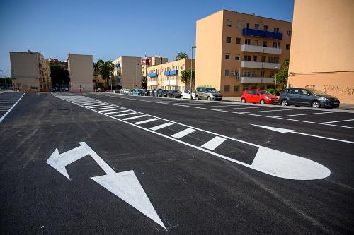 El Ayuntamiento dedica un solar de 3.000 m² a aparcamientos en las 500 Viviendas