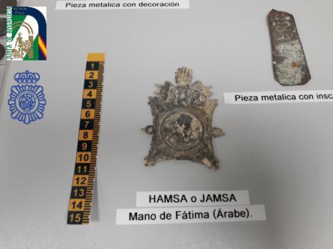 La Policía andaluza interviene 500 piezas arqueológicas