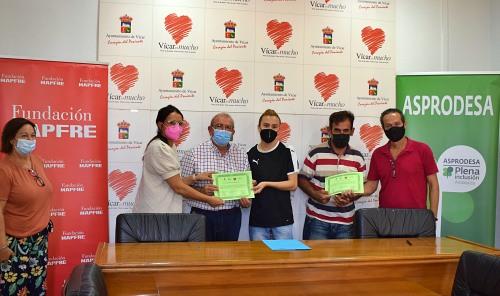 El Ayuntamiento De Vícar Continuará Colaborando Con Asprodesa