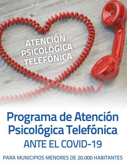 Teléfono de atención psicológica de la Diputación por el #COVID19