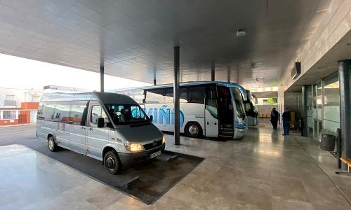 El Ayuntamiento de Berja higieniza con ozono el transporte colectivo