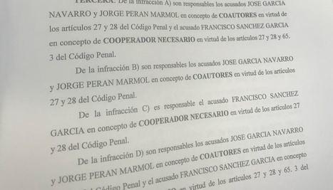 Así tramaron un exalcalde socialista de Albox, un empresario y el exsecretario tres adjudicaciones ilegales