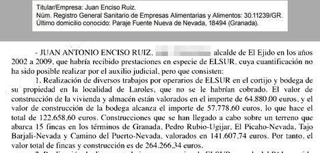 Sanidad retira la licencia para hacer vino a Juan Enciso
