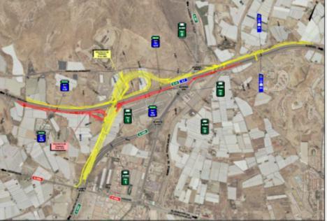 Aprobación provisional del enlace 429 de la A-7 de acceso a Roquetas de Mar y Vícar