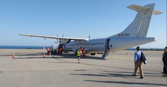 El vuelo Almería-Sevilla bate su récord anual tras superar en noviembre el dato de viajeros de 2018