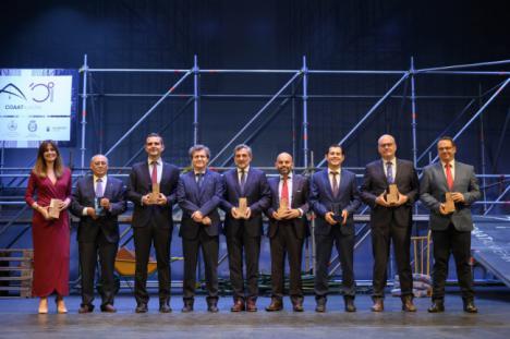 Almería 2019 recibe el reconocimiento del Colegio de Aparejadores y Arquitectos Técnicos