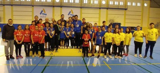 50 jugadores en la primera prueba del Circuito Almeriense de Bádminton en Adra