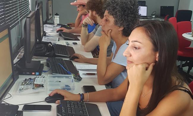 Los centros Guadalinfo superan en Almería los 105.300 usuarios