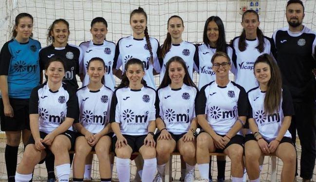 Bonilla Felicita Al Federico García Lorca Por Su Título Provincial De Segunda Andaluza Senior De Futbol Sala Femenino
