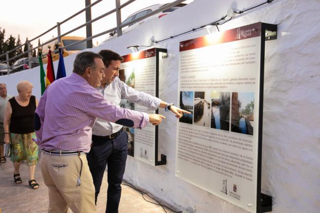 Diputación promueve la Balsa de Cela el 'Museo del Agua de Lúcar'