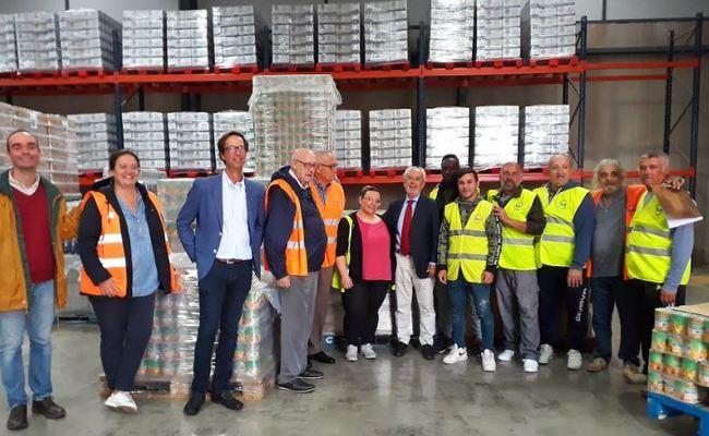 14.515 familias en riesgo de exclusión recibirán 3.441 toneladas de alimentos