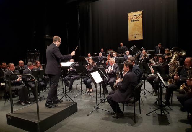 La Banda Municipal estrena el 'Invierno Cultural' en el Apolo