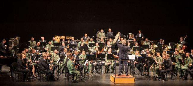 La Banda Sinfónica Municipal y la Legión comparten un Concierto de Navidad