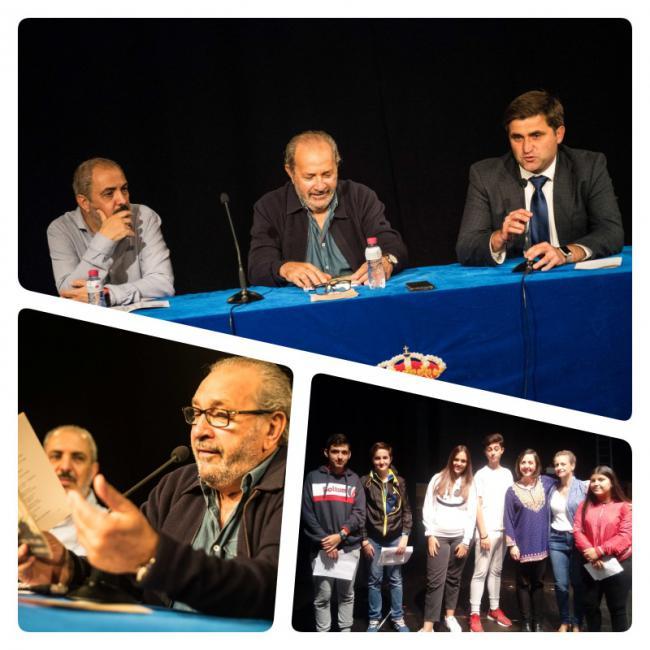 García Barbeito acercó a jóvenes estudiantes roqueteros su poesía más profunda