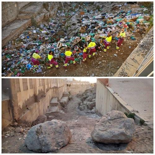 El Ayuntamiento saca 500.000 kilos de basura en actuaciones especiales de limpieza