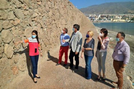 La Junta de Andalucía repara el dique de abrigo de Poniente del puerto de Adra