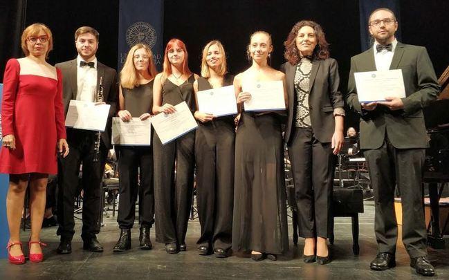 Concierto de Navidad y nuevos becados de la Orquesta de la UAL