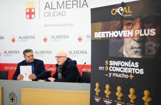 La OCAL inicia este sábado en el Auditorio su ciclo de conciertos Beethoven Plus