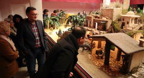 Inaugurado el Belén Monumental de Berja en la Plaza Porticada