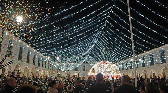 La Navidad llega a Berja con el encendido del alumbrado
