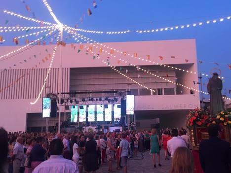 La verbena de San Antonio vuelve este sábado a la Plaza del Teatro de Berja