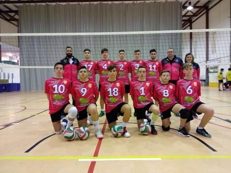El Club Voleibol Berja participa en el Campeonato de España