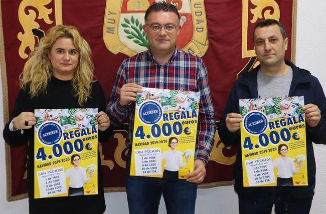 El comercio de Berja reparte 4.000 euros esta Navidad