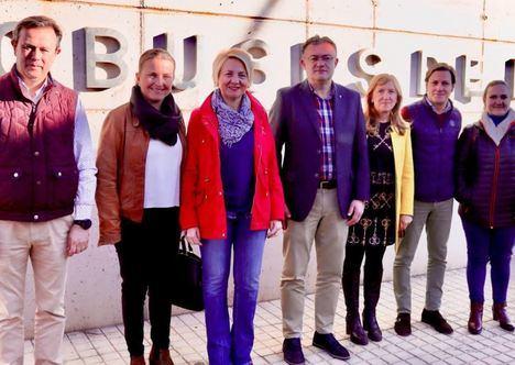 Fomento invierte 35.500 euros en la Estación de Autobuses de Berja