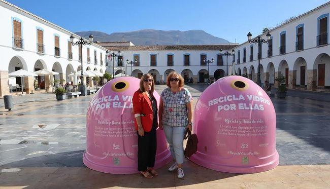 Ecovidrio y el Ayuntamiento de Berja presentan 'Recicla Vidrio por ellas'