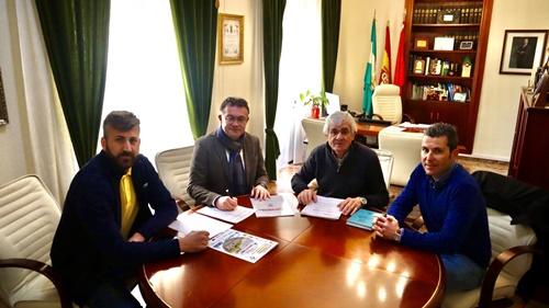 El Ayuntamiento de Berja renueva su apoyo a la Clásica de Almería