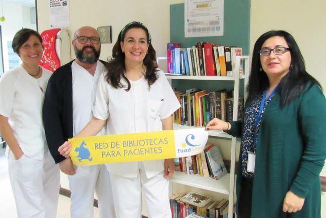 El Hospital de Poniente estrena Biblioteca para Pacientes