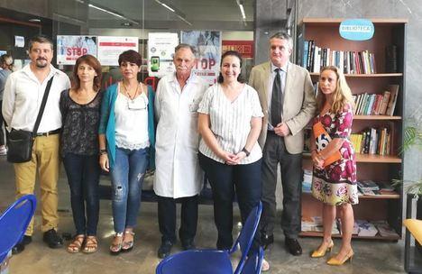 El Distrito Sanitario Almería se une a 'Yo leo, yo me cuido'