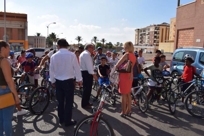 Vícar Se Suma A La Semana Europea De La Movilidad En El 'Día Sin Coches'