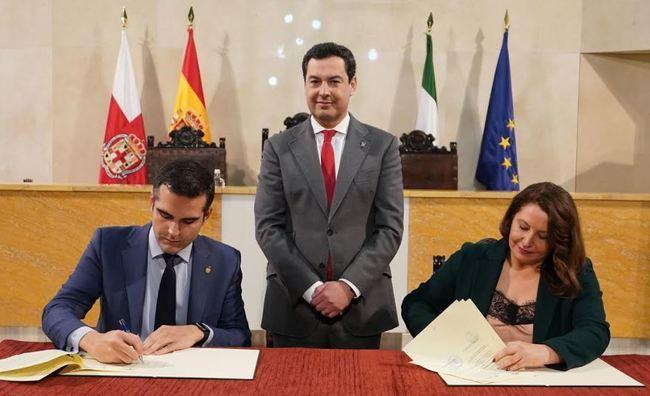 Moreno desbloquea las infraestructuras hidráulicas demandadas por Almería en una década